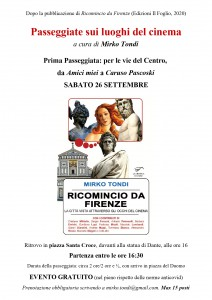 Passeggiate luoghi del cinema Firenze